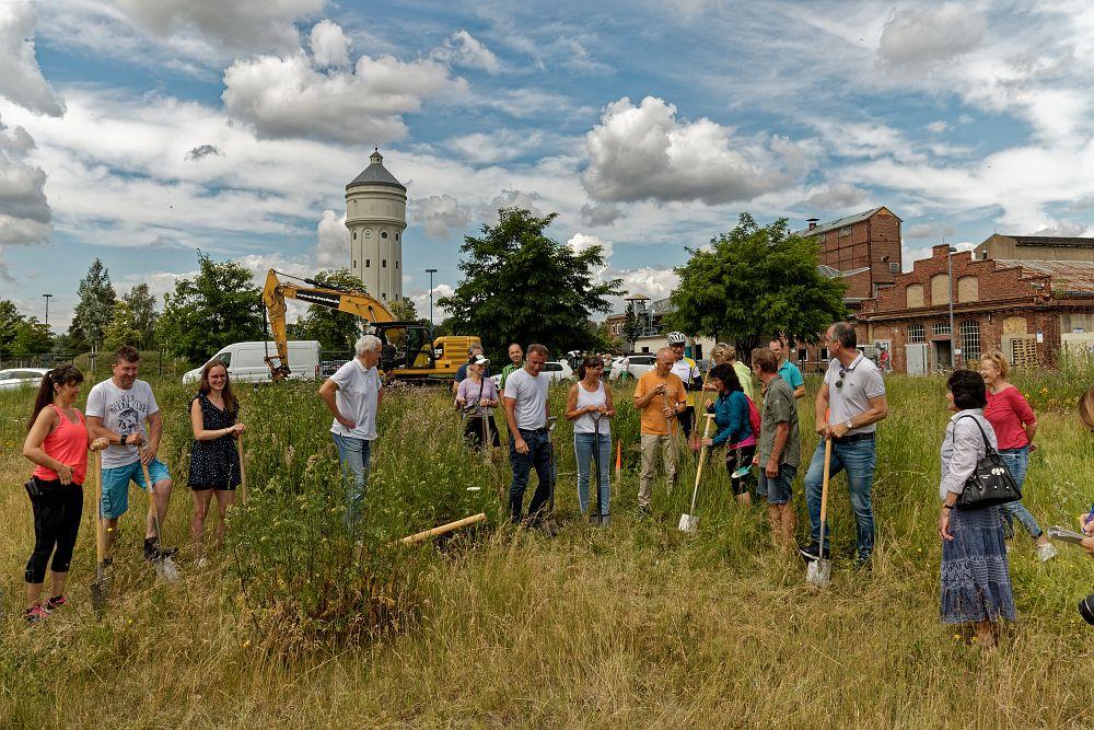 Spatenstich bei EB Gesundheitsstudio GmbH – AktivOase nächstes Jahr an neuem Standort