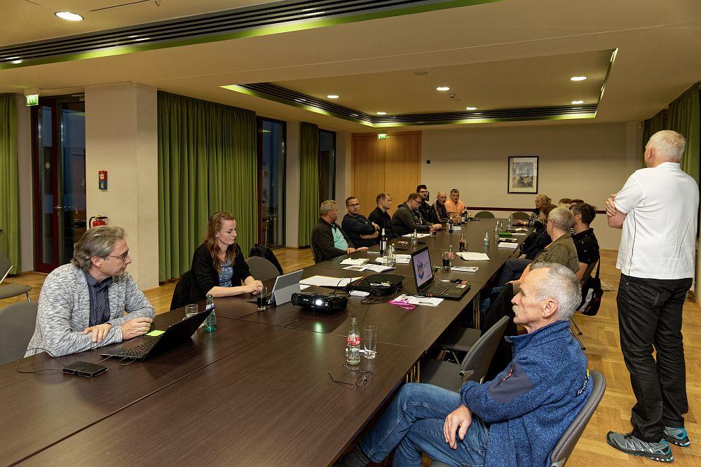 Mitgliederversammlung #TGVeb im Bürgerhaus