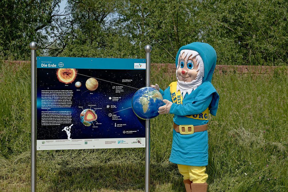 So nah warst Du noch nie – Planetenwanderweg in Eilenburg toll gelungen