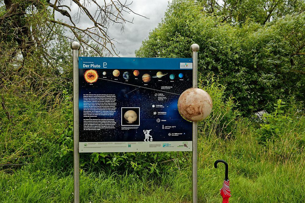 Planetenwanderweg und Lauschtour Eilenburg